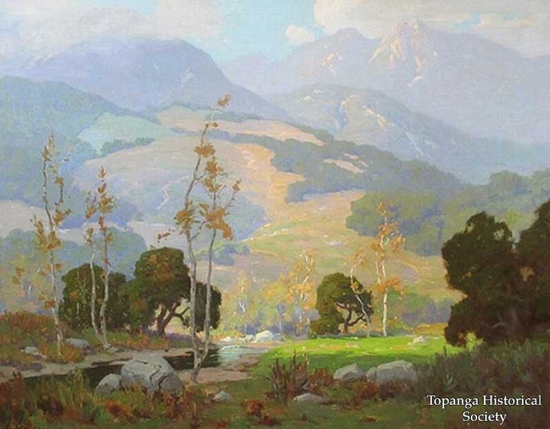 Elmer Wachtel, Winter in Topanga w.jpg
